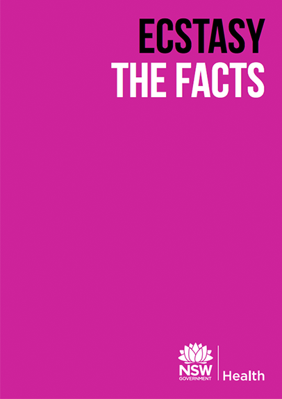 Ecstasy Drug Facts Booklet