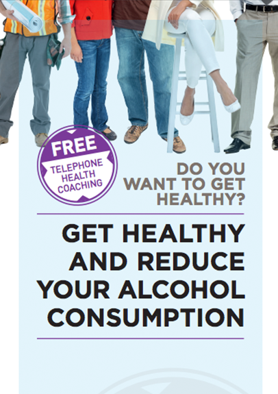Get Healthy Service - Alcohol Reduction Brochure