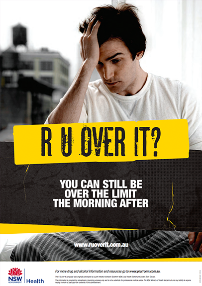 R U Over It? Poster