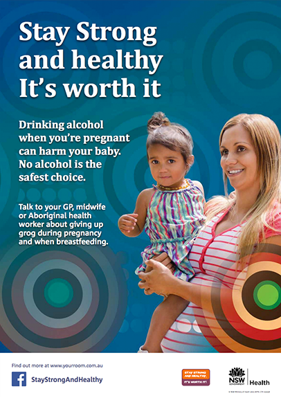 Stay Strong FASD Poster for Women