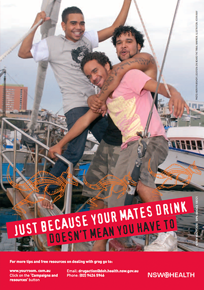 Just Because Your Mates Drink Poster