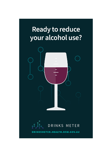 Drinks Meter Brochure (wine glass)