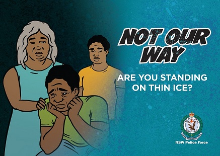 Not Our Way - Ice Postcard