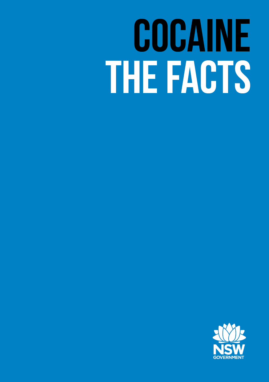 Cocaine Drug Facts Booklet